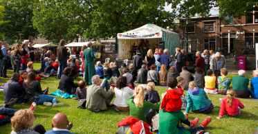 Overzichtsfoto Afrikafestival Nijmegen 2015