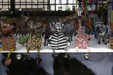 Afrika dieren kraal