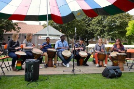 Afrika Djembe workshop klein
