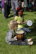 Afrika kind muziek