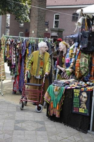 Afrika kraam kleding
