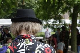 Afrika man hoed